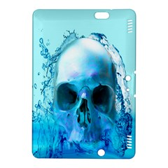 Skull In Water Kindle Fire Hdx 8 9  Hardshell Case by icarusismartdesigns