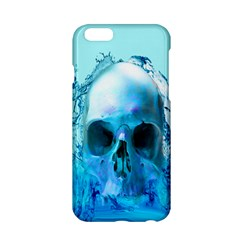 Skull In Water Apple Iphone 6 Hardshell Case by icarusismartdesigns
