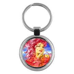 Tears Of Blood Key Chain (round)