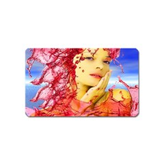 Tears Of Blood Magnet (name Card) by icarusismartdesigns