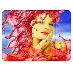 Tears Of Blood Samsung Galaxy Tab 7  P1000 Flip Case by icarusismartdesigns