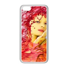 Tears Of Blood Apple Iphone 5c Seamless Case (white) by icarusismartdesigns