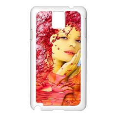 Tears Of Blood Samsung Galaxy Note 3 N9005 Case (white) by icarusismartdesigns