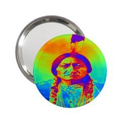 Sitting Bull Handbag Mirror (2 25 ) by icarusismartdesigns