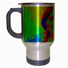 Sitting Bull Travel Mug (silver Gray) by icarusismartdesigns