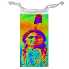 Sitting Bull Jewelry Bag by icarusismartdesigns