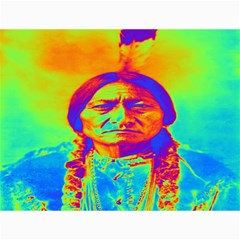Sitting Bull Canvas 18  X 24  (unframed) by icarusismartdesigns