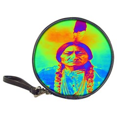 Sitting Bull Cd Wallet by icarusismartdesigns