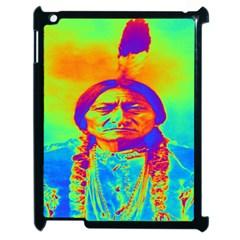 Sitting Bull Apple Ipad 2 Case (black) by icarusismartdesigns