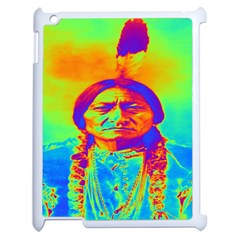 Sitting Bull Apple Ipad 2 Case (white) by icarusismartdesigns
