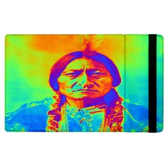 Sitting Bull Apple Ipad 3/4 Flip Case by icarusismartdesigns