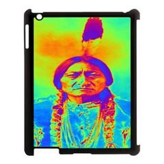 Sitting Bull Apple Ipad 3/4 Case (black) by icarusismartdesigns