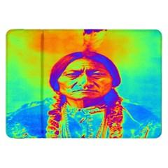 Sitting Bull Samsung Galaxy Tab 8 9  P7300 Flip Case by icarusismartdesigns