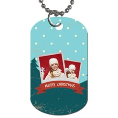 Xmas By Xmas   Dog Tag (two Sides)   L121w9z1qu9b   Www Artscow Com Back