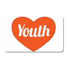 Youth Concept Design 01 Magnet (rectangular) by dflcprints