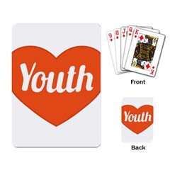 Youth Concept Design 01 Playing Cards Single Design by dflcprints