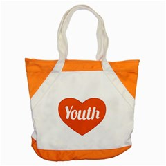 Youth Concept Design 01 Accent Tote Bag by dflcprints