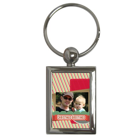 Xmas By Betty   Key Chain (rectangle)   O9md5i7xe3cw   Www Artscow Com Front