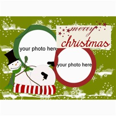 Christmas Photo Cards By Zornitza   5  X 7  Photo Cards   Hosxriqppkh7   Www Artscow Com 7 x5 Photo Card - 1