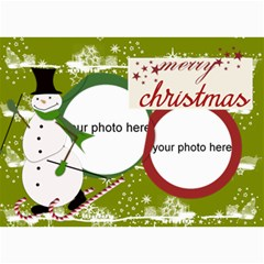 Christmas Photo Cards By Zornitza   5  X 7  Photo Cards   Hosxriqppkh7   Www Artscow Com 7 x5 Photo Card - 6