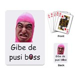Pink Guy Playing Cards - Playing Cards Single Design