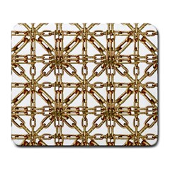 Chain Pattern Collage Large Mouse Pad (rectangle) by dflcprints