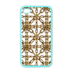 Chain Pattern Collage Apple Iphone 4 Case (color) by dflcprints