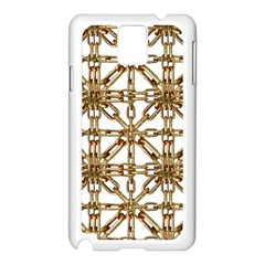 Chain Pattern Collage Samsung Galaxy Note 3 N9005 Case (white) by dflcprints