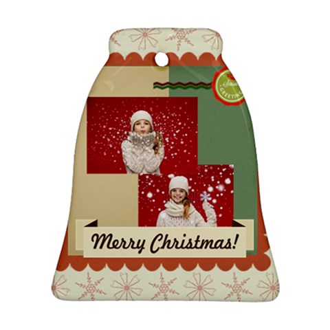 Xmas By Xmas   Ornament (bell)   E13v7wokenwc   Www Artscow Com Front
