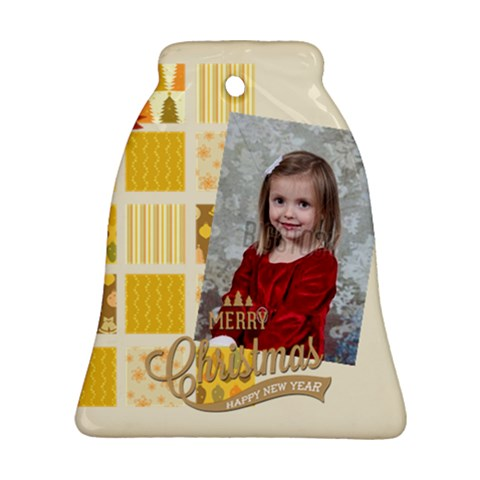 Xmas By Xmas   Ornament (bell)   5dw0py6g9oqa   Www Artscow Com Front