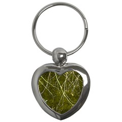 Wild Nature Collage Print Key Chain (heart) by dflcprints