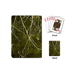 Wild Nature Collage Print Playing Cards (mini) by dflcprints