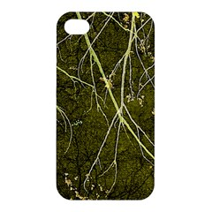 Wild Nature Collage Print Apple Iphone 4/4s Premium Hardshell Case by dflcprints