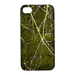 Wild Nature Collage Print Apple Iphone 4/4s Hardshell Case With Stand by dflcprints