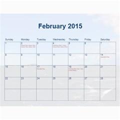 2015 Bps Cal By Bonita   Wall Calendar 11  X 8 5  (12 Months)   Jucngf4osouj   Www Artscow Com Feb 2015
