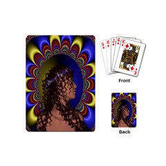 New Romantic Playing Cards (mini) by icarusismartdesigns