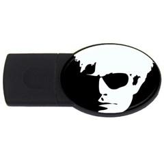 Warhol 4gb Usb Flash Drive (oval) by icarusismartdesigns
