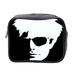 Warhol Mini Travel Toiletry Bag (two Sides) by icarusismartdesigns