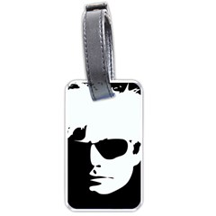 Warhol Luggage Tag (two Sides) by icarusismartdesigns