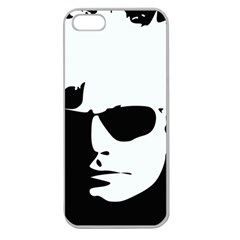 Warhol Apple Seamless Iphone 5 Case (clear) by icarusismartdesigns