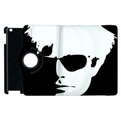 Warhol Apple Ipad 3/4 Flip 360 Case by icarusismartdesigns