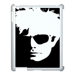 Warhol Apple Ipad 3/4 Case (white) by icarusismartdesigns