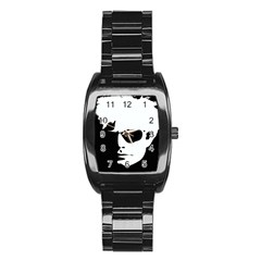 Warhol Stainless Steel Barrel Watch by icarusismartdesigns