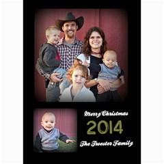 Christmas 2014 By Hilary Troester   5  X 7  Photo Cards   Urhj3uljv36n   Www Artscow Com 7 x5 Photo Card - 10