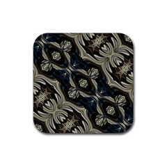 Fancy Ornament Print Drink Coaster (square) by dflcprints