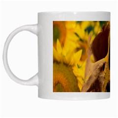 Sunflowers White Coffee Mug by icarusismartdesigns