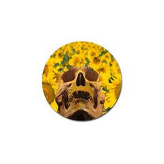 Sunflowers Golf Ball Marker by icarusismartdesigns