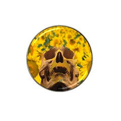 Sunflowers Golf Ball Marker 4 Pack (for Hat Clip) by icarusismartdesigns