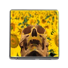 Sunflowers Memory Card Reader With Storage (square) by icarusismartdesigns