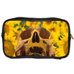 Sunflowers Travel Toiletry Bag (two Sides) by icarusismartdesigns